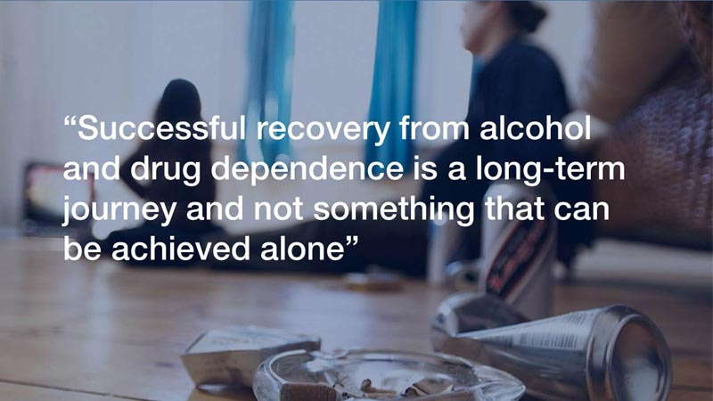 Successful alcohol recovery essex, london