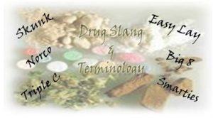 Slang drug terms