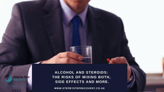 Steroids-alcohol-risks